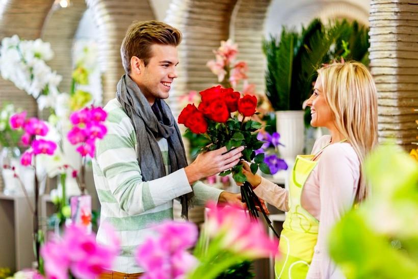 Цветочный магазин рядом с м. пр. Просвещения