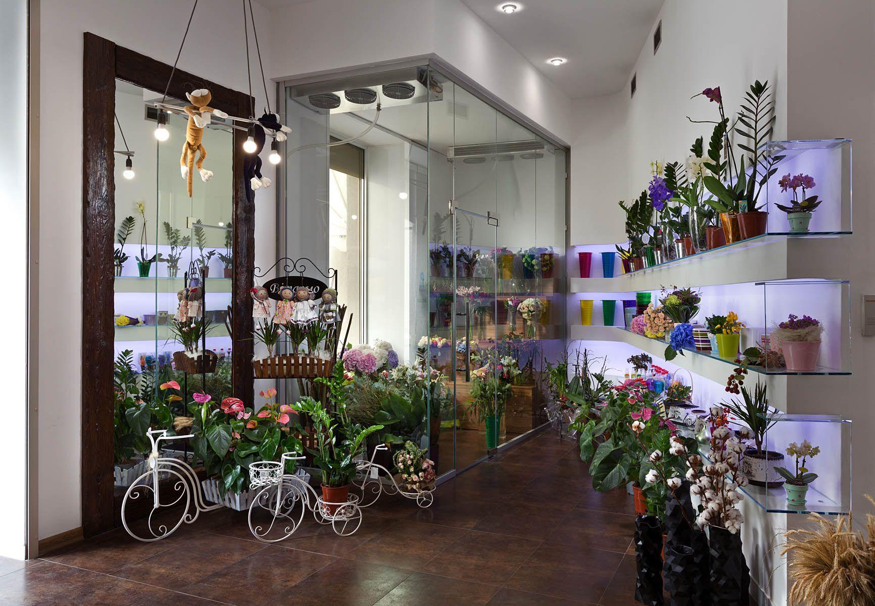 Цветочный магазин от известного бренда