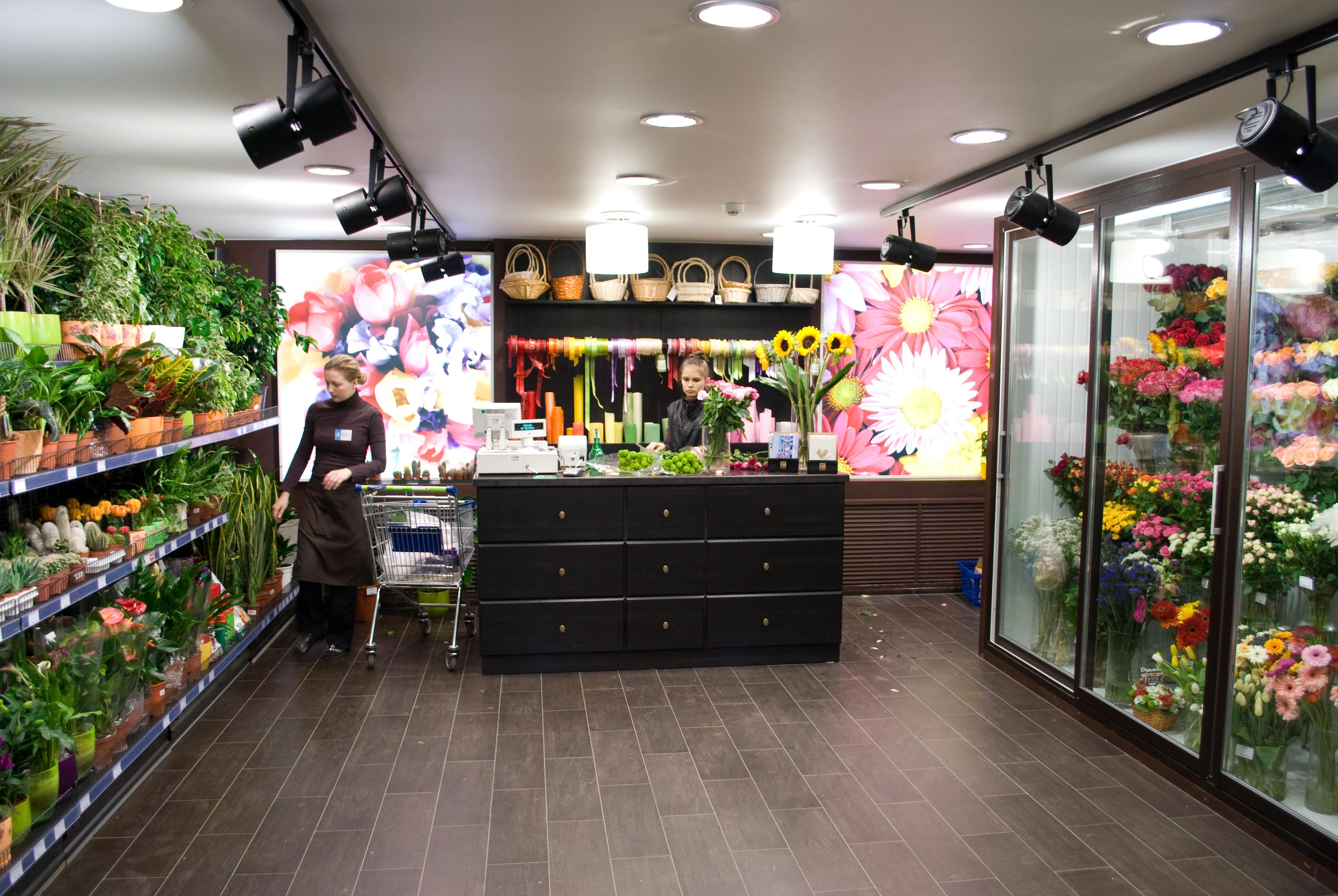 Цветочный магазин от самого крупного сетевика