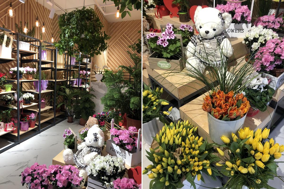 Магазин цветов в ТРК. Быстрая окупаемость