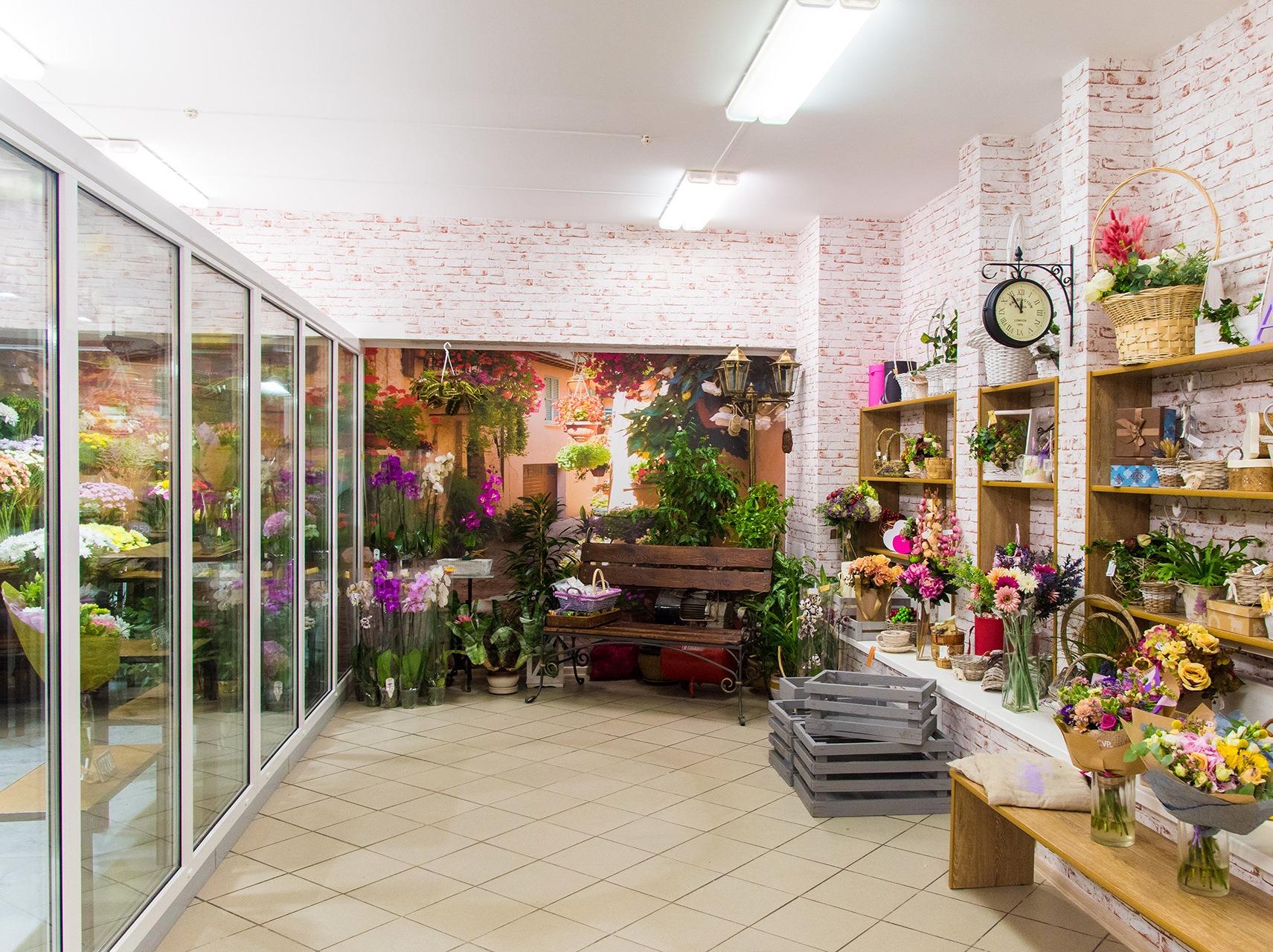 Магазин цветов с быстрой окупаемостью