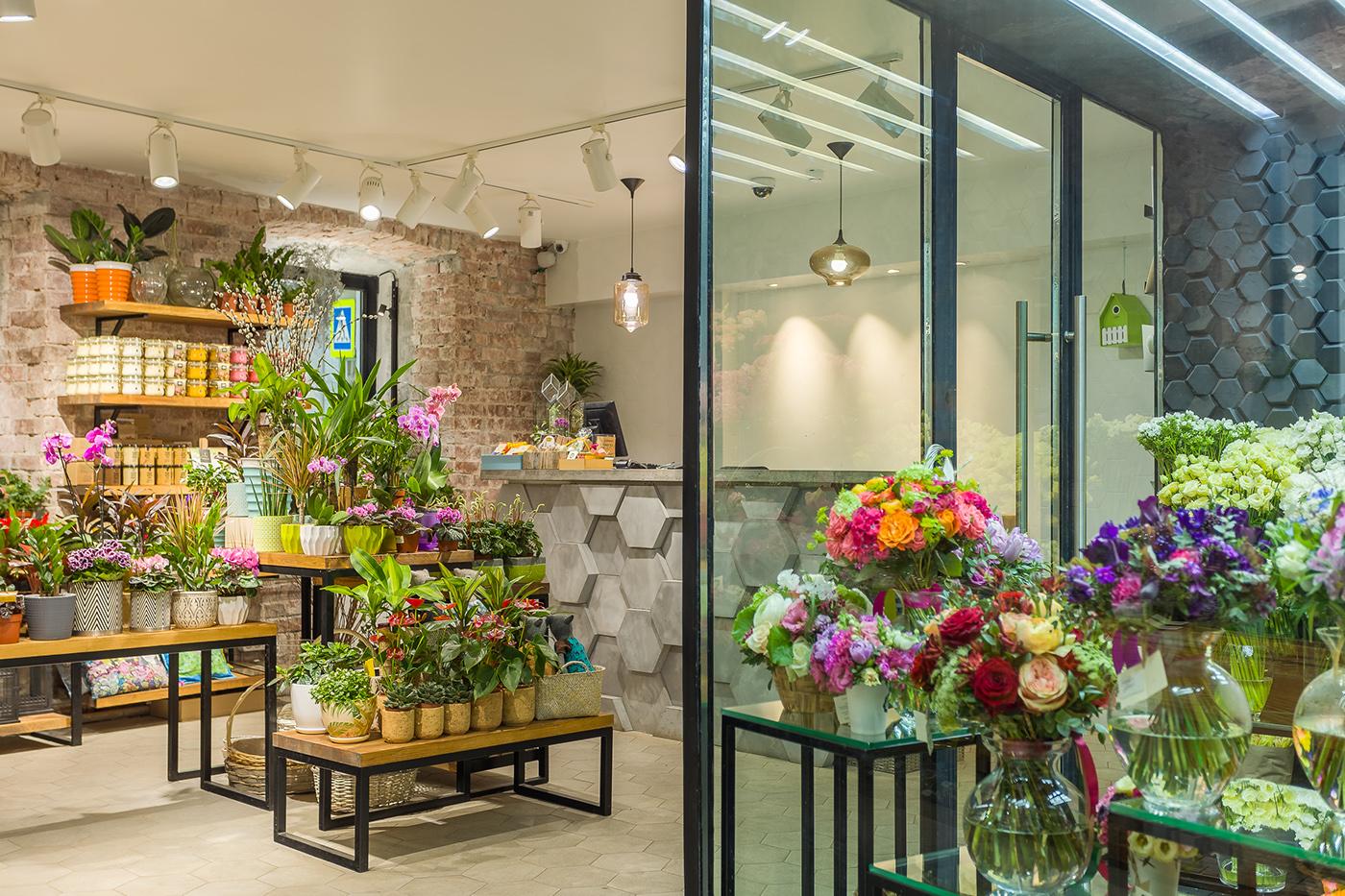 Цветочный магазин. Проходимость - 50 000 чел/мес