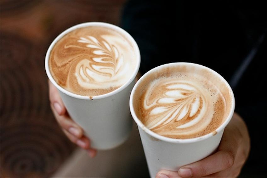 Кофейня-контейнер (кофе с собой) на территории БЦ