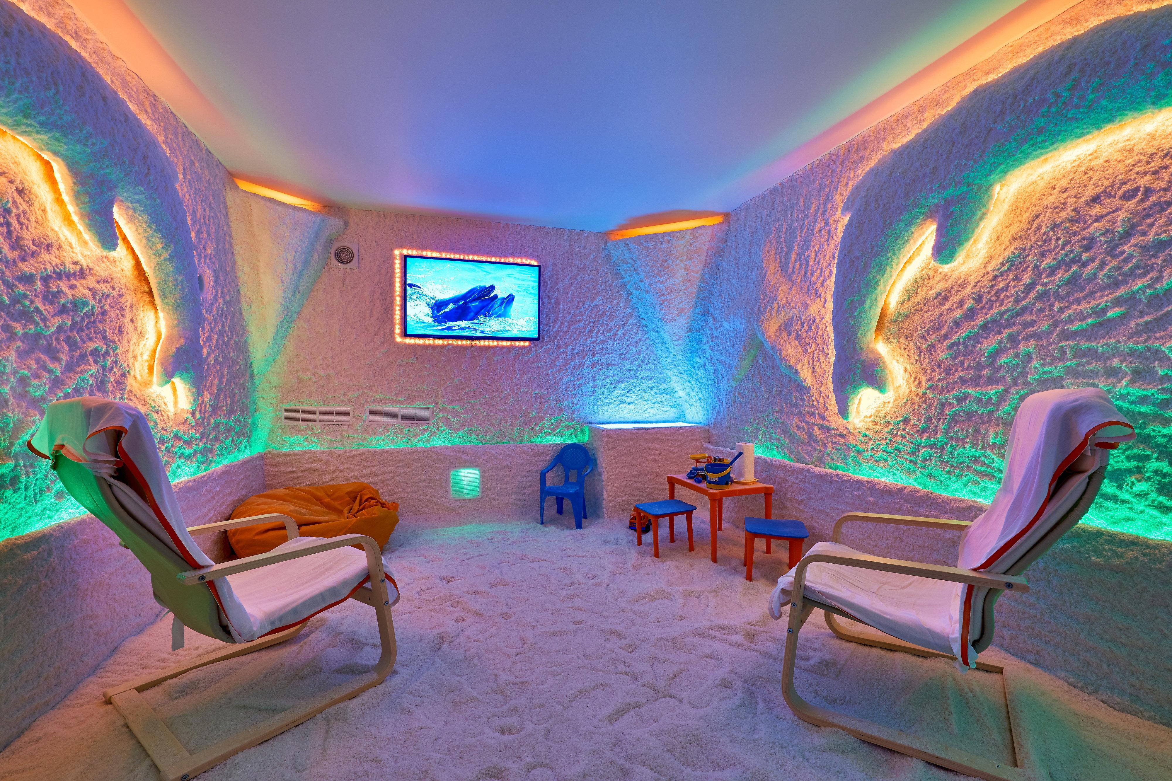 Салон красоты соляной пещерой