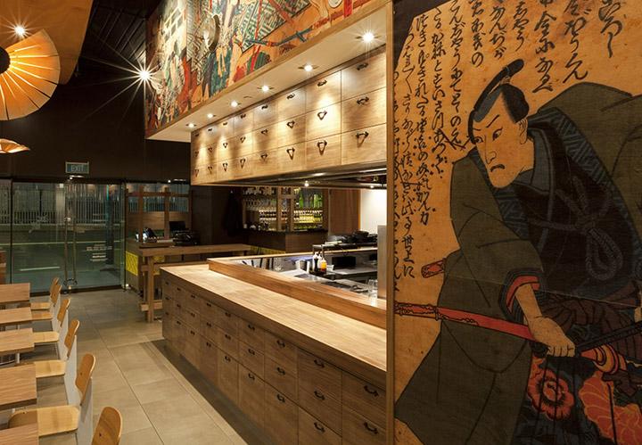 Ресторан японской кухни на Сенной