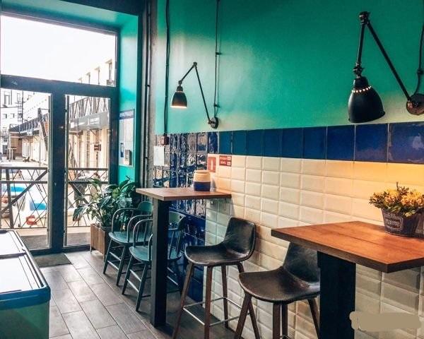 Кафе-столовая в арт-пространстве