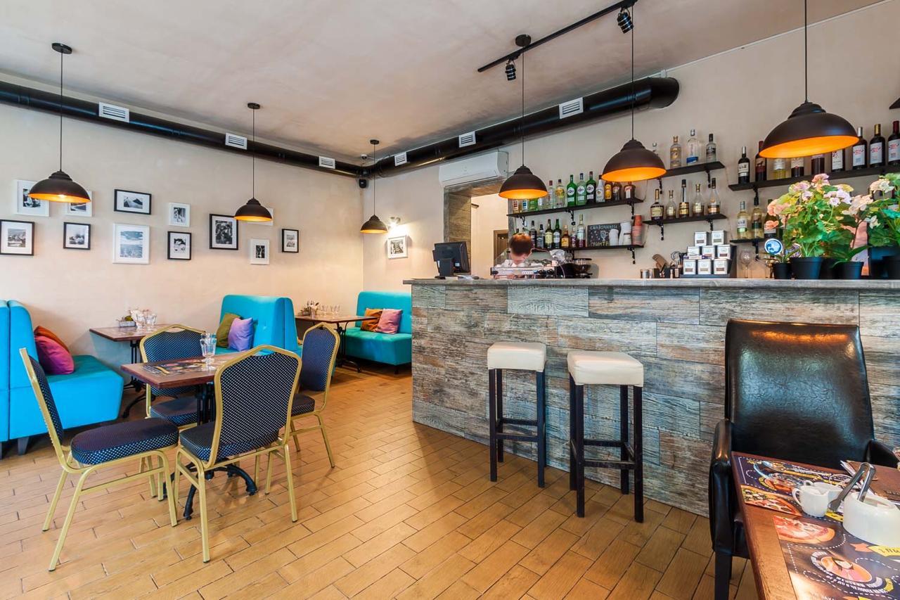 Ресторан итальянской кухни в центре города