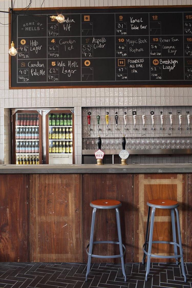 Магазин разливного пива в Невском районе