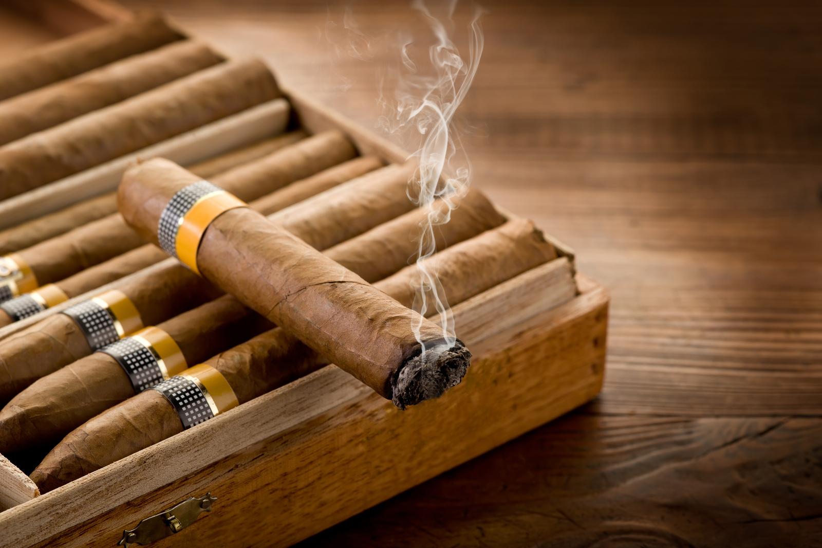 Сетевая табачная лавка с оборотом от 1 млн. рублей