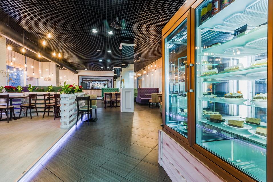 Ресторан европейской кухни на территории БЦ