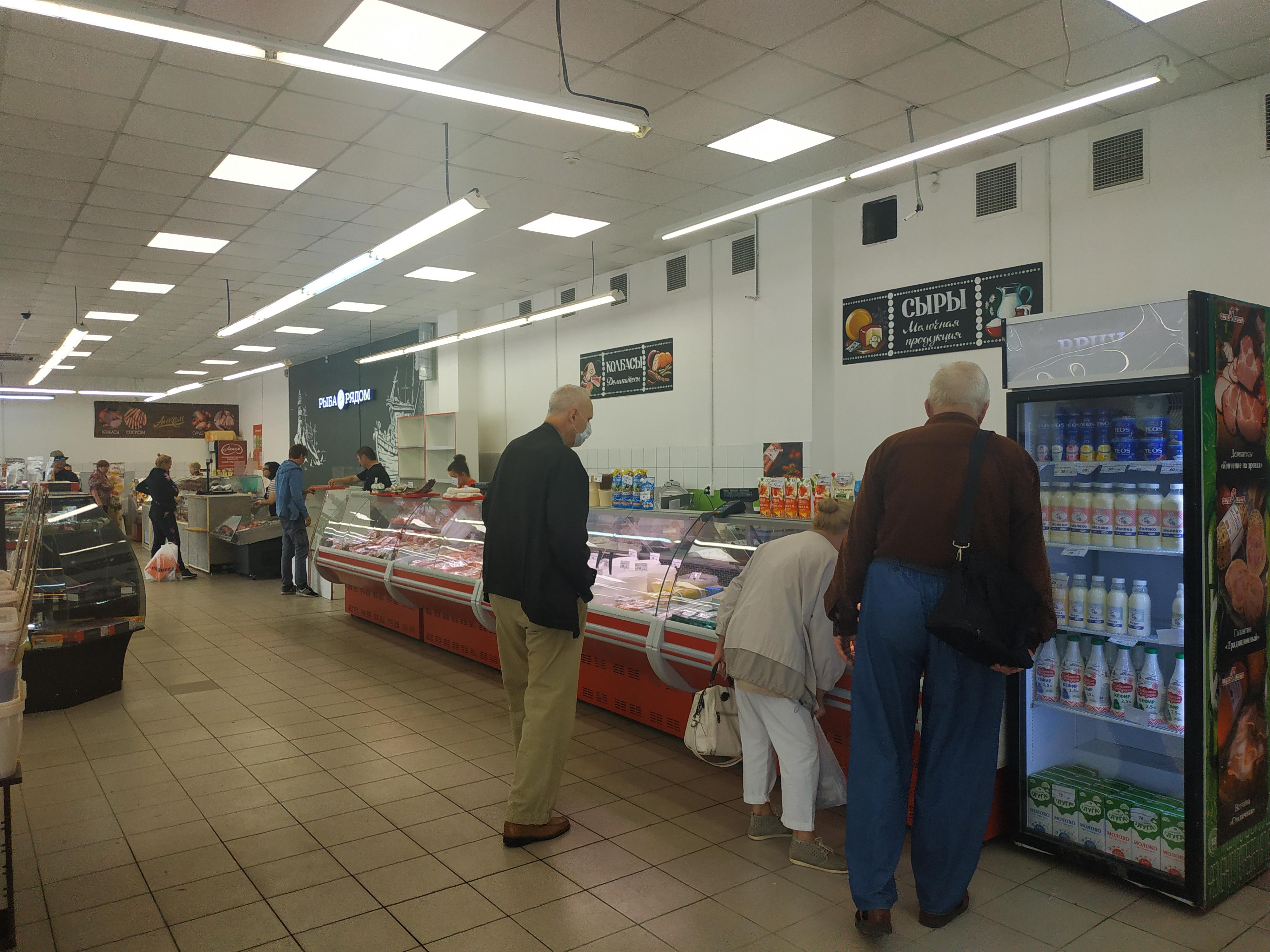 Арендный бизнес Рынок продовольственных товаров