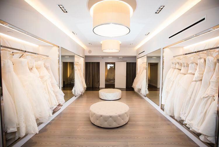 Уютный свадебный салон
