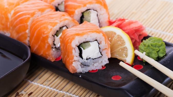 Магазин японской кухни с большой клиентской базой