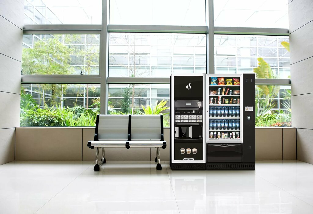 Вендинговые аппараты по продаже здорового питания