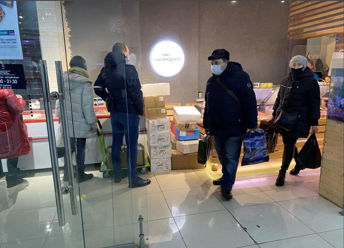 Рыбный магазин с дост-й в Кудрово ЧП от 245 000 р.