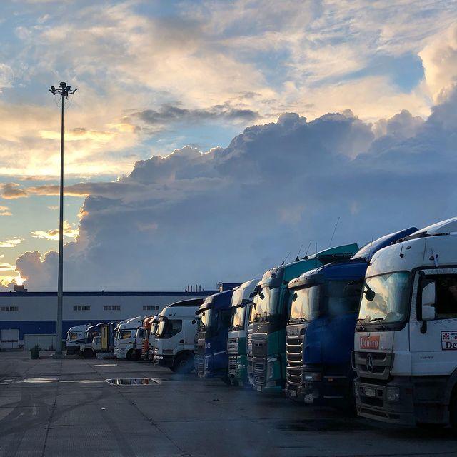 Участок под грузовую автостоянку