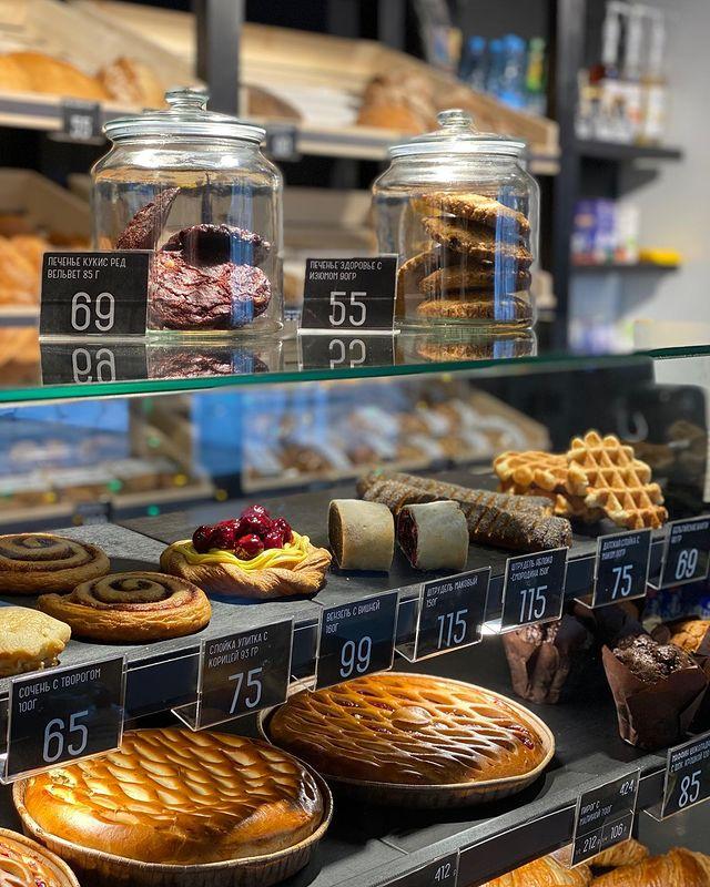 Пекарня с посадочными местами