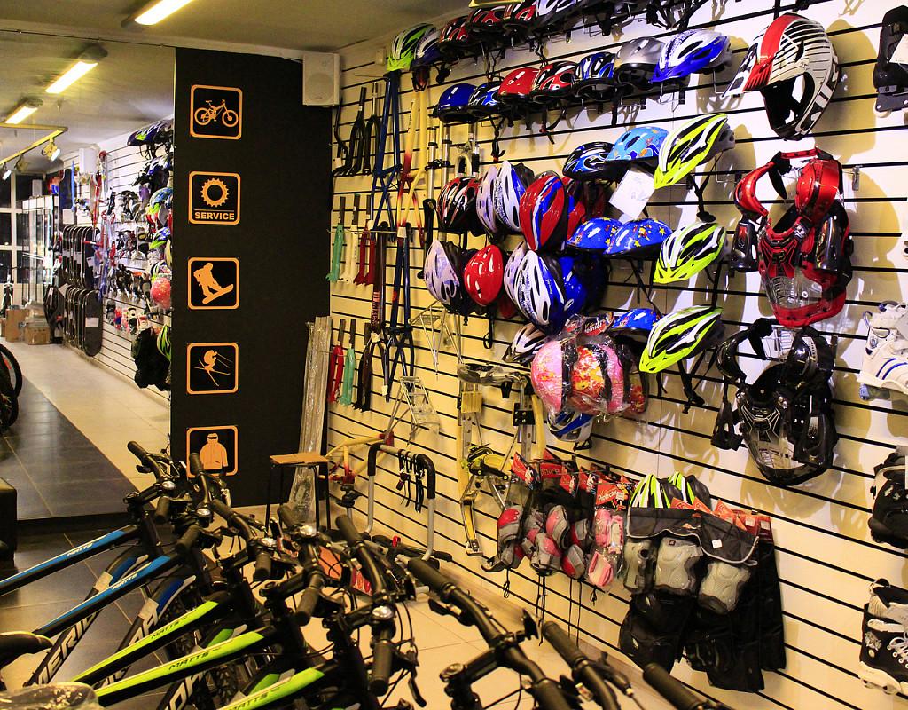 Магазин спортивных товаров с готовым интернет-магазином