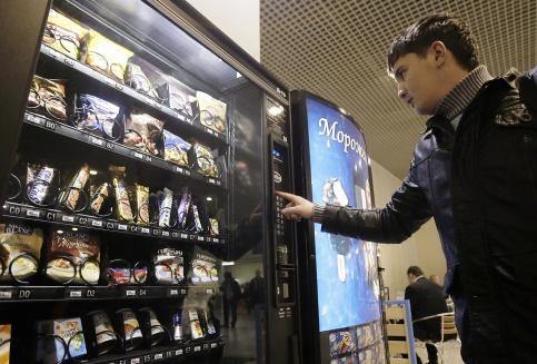 Сеть из 3 вендинговых автоматов на территории СТО