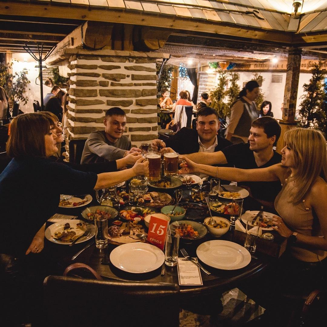 Популярный бар в центре города
