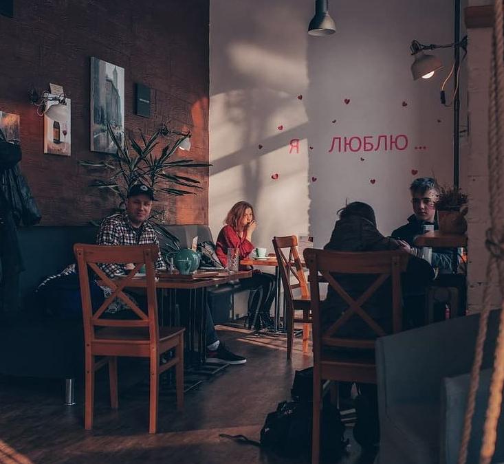 Кофейня с большим пешеходным трафиком