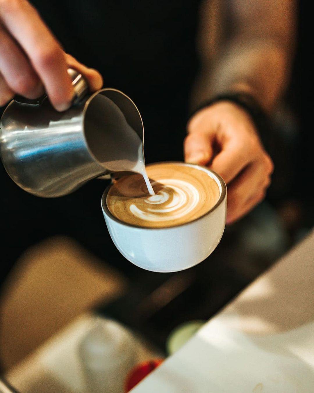 Кофе с собой напротив метро