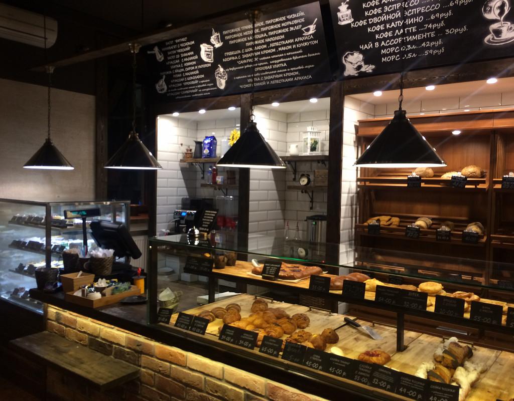 Пекарня с большим пешеходным трафиком в центре Спб