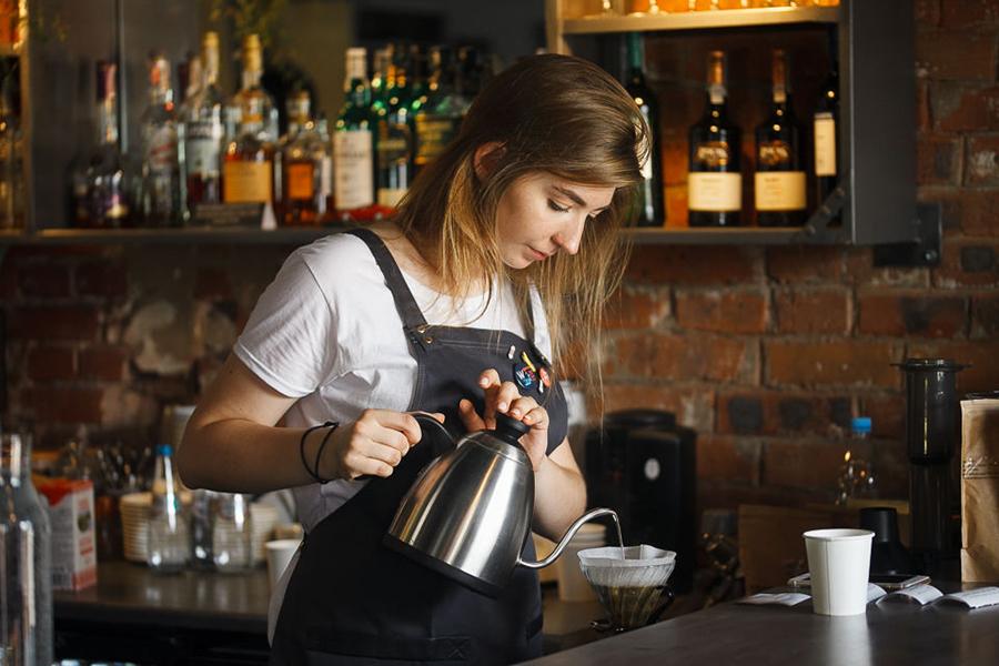Популярная кофейня в центре