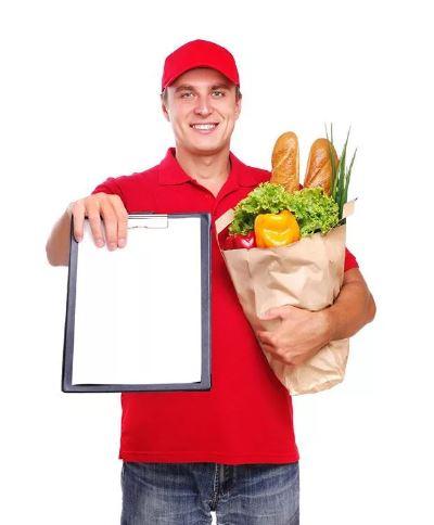 Сервис доставки продуктов с огромным спросом