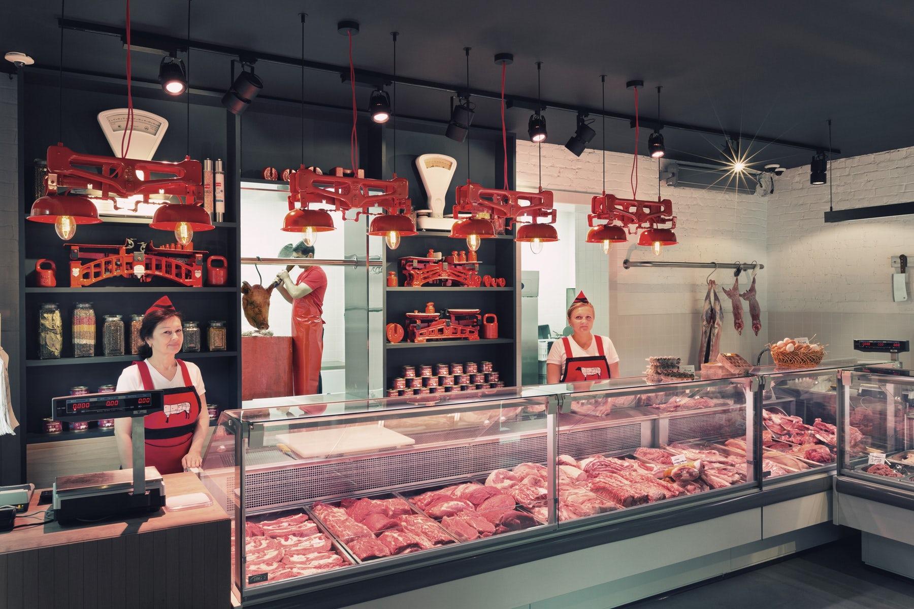 Мясной магазин в элитном ЖК на юге города