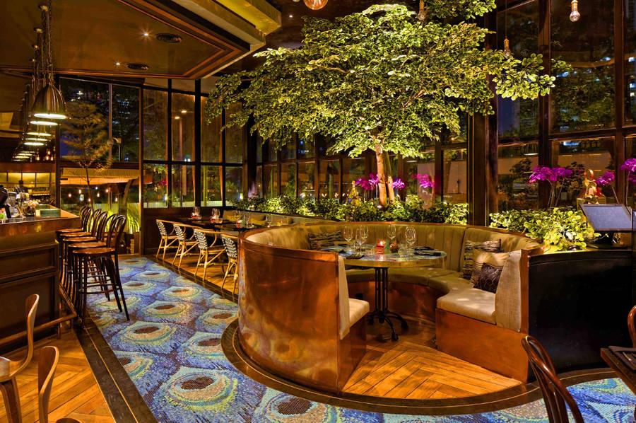 Ресторан с 2 большими верандами