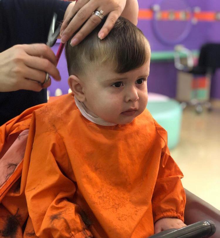 Детская парикмахерская под известной франшизой