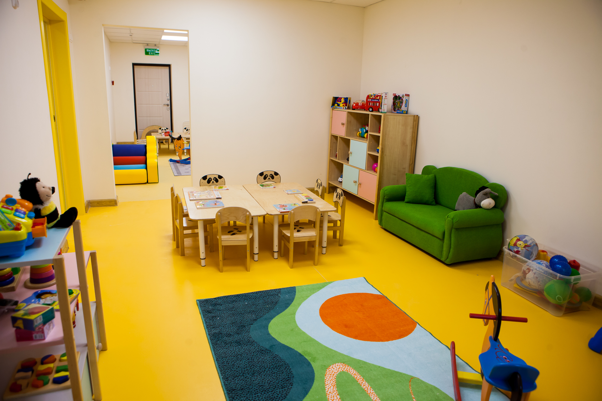 Домашний детский сад на Приморской