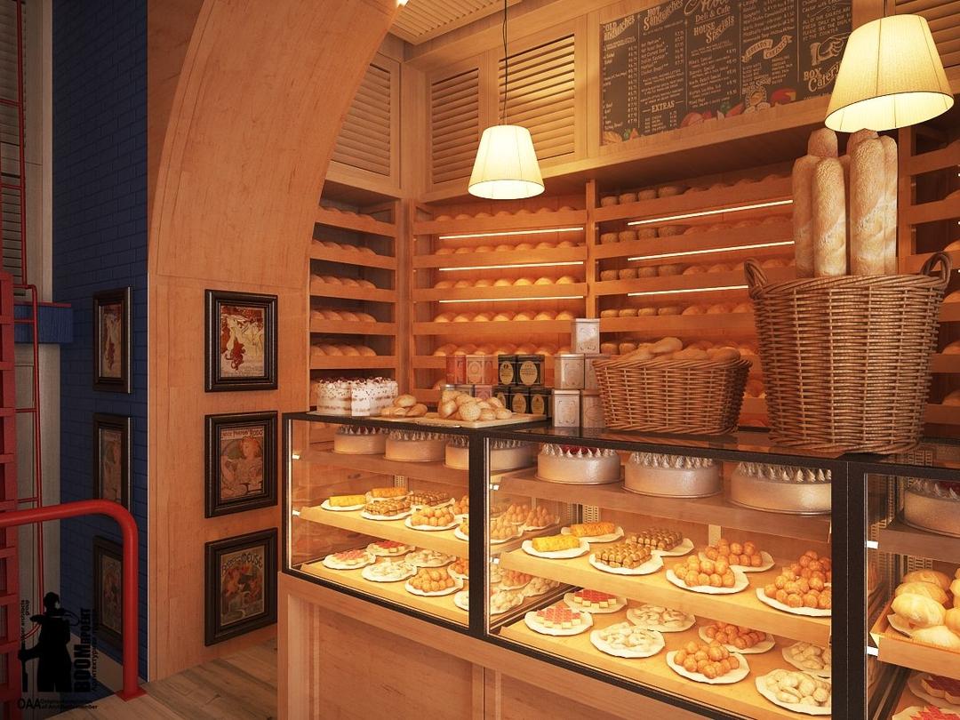 Пекарня неполного цикла на Богатырском проспекте