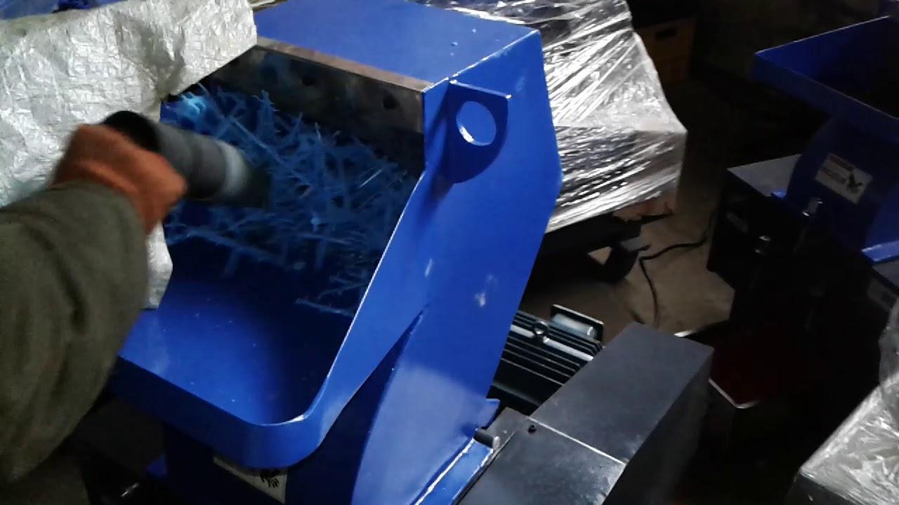 Производство пластиковой крошки (переработка)