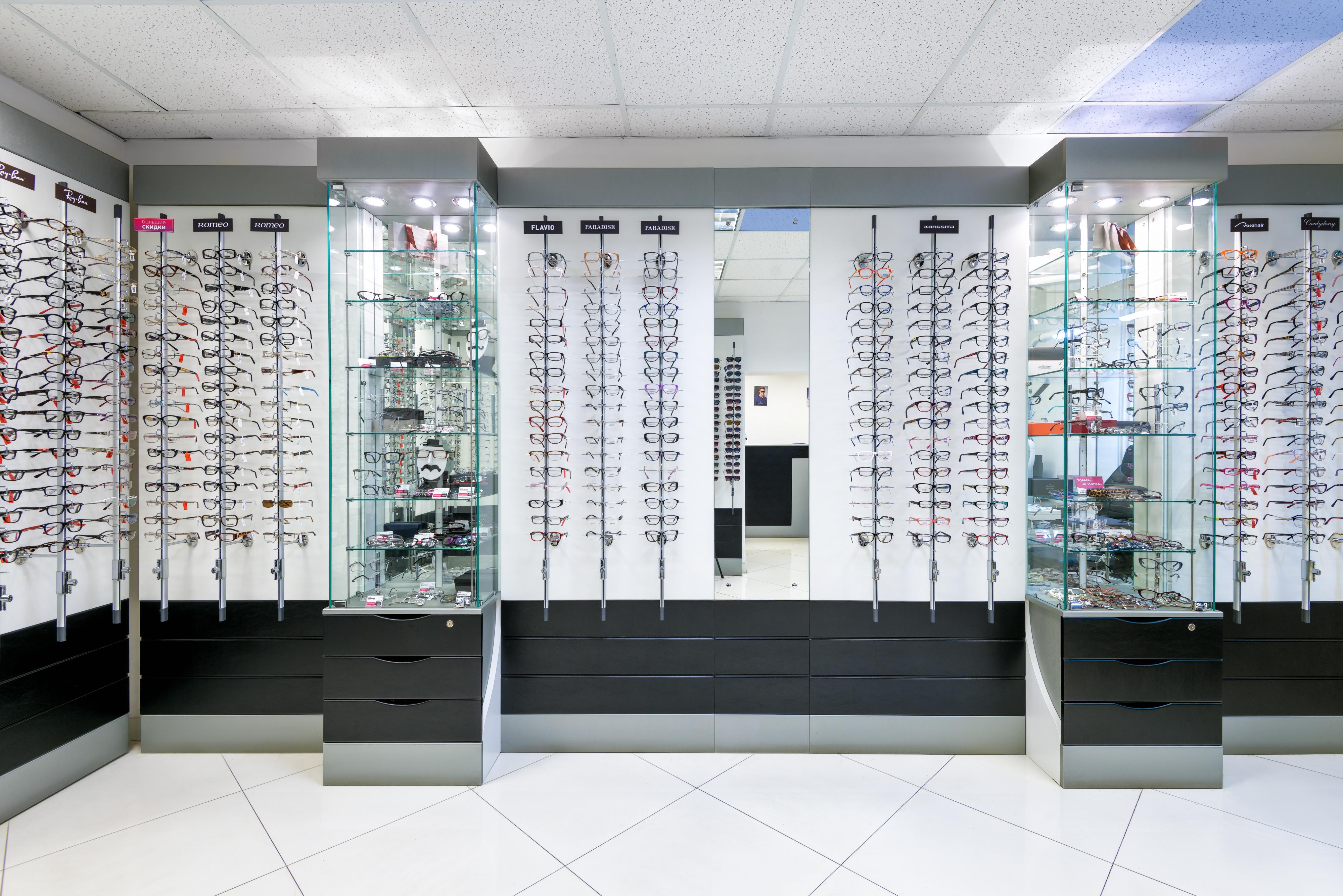 Салон оптики в премиум ТЦ