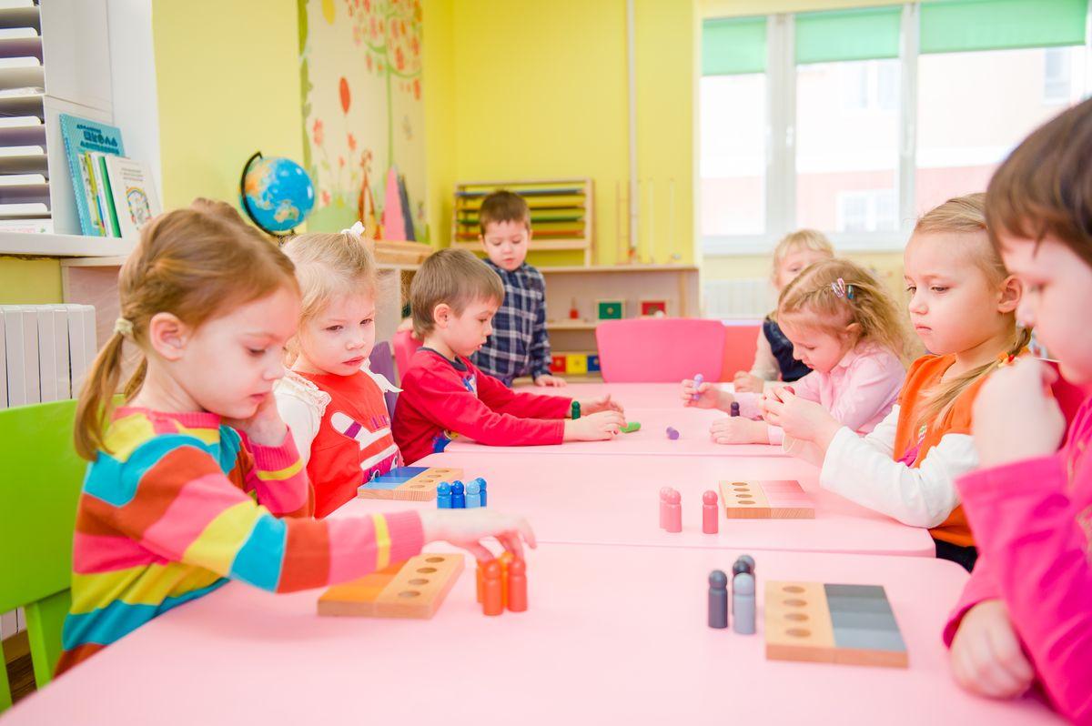 Детский центр в густонаселенном районе