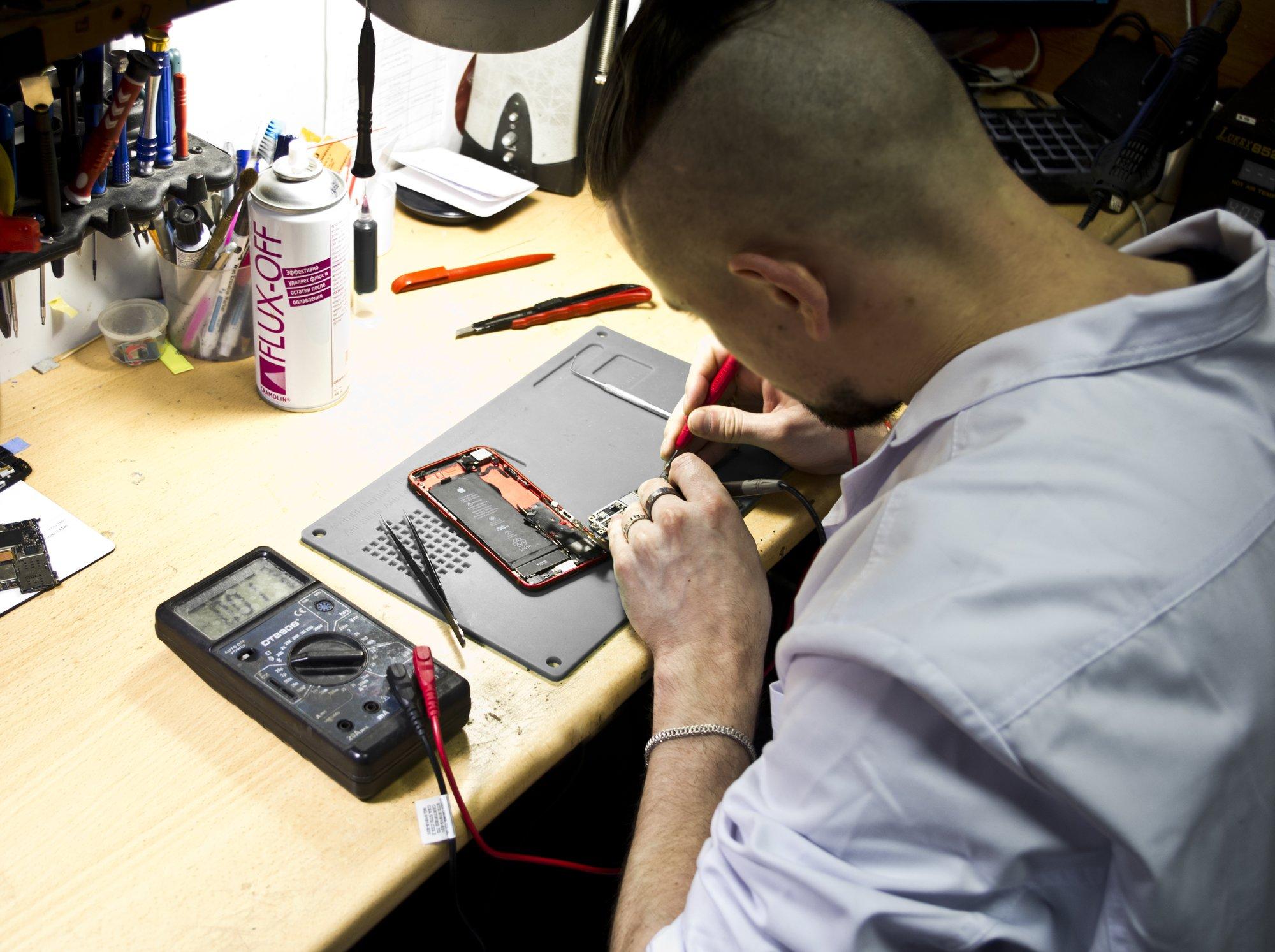 Сервисный центр по ремонту электроники в центре