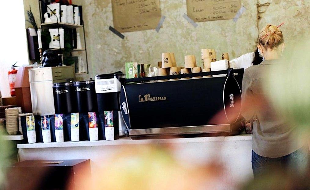 Кофейня на проходном месте