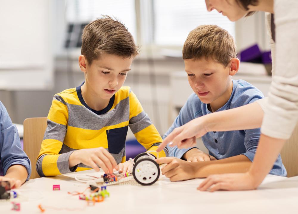 Детский центр робототехники