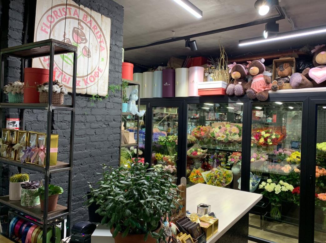 Цветочный бутик в 200м от метро