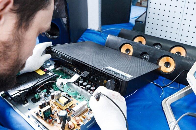 Специализированный сервис по ремонту аудиотехники