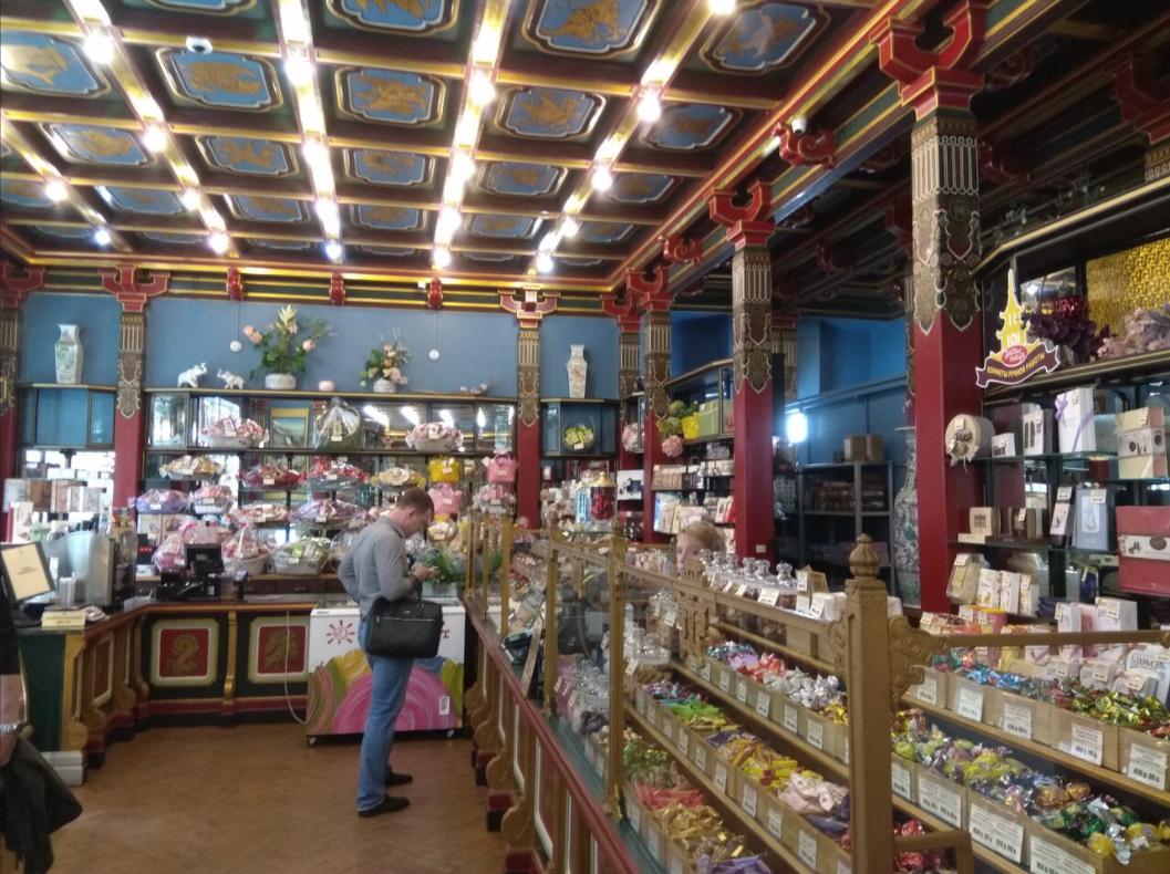 Сеть магазинов чая и кофе