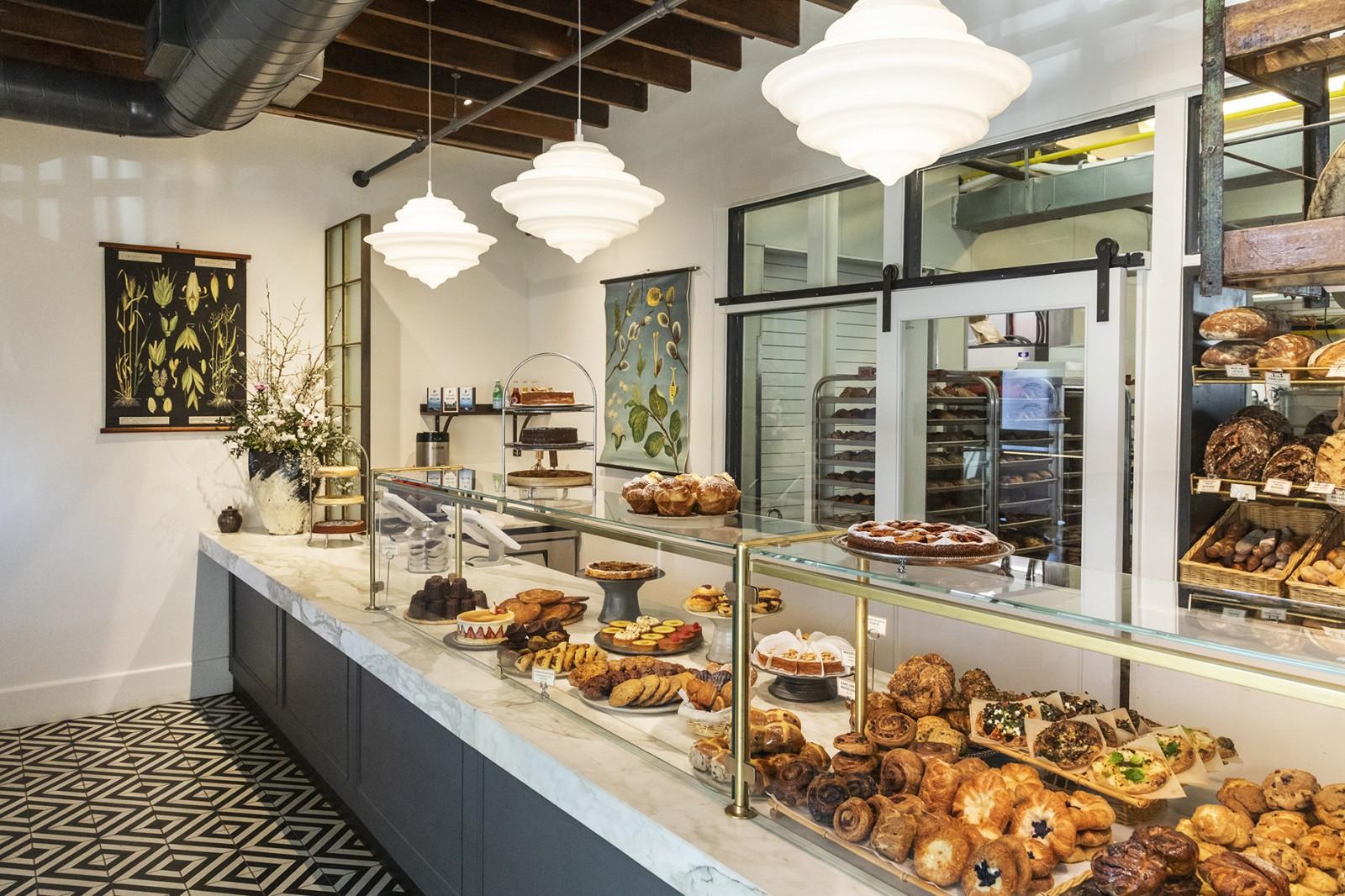Кафе-пекарня с новым оборудованием