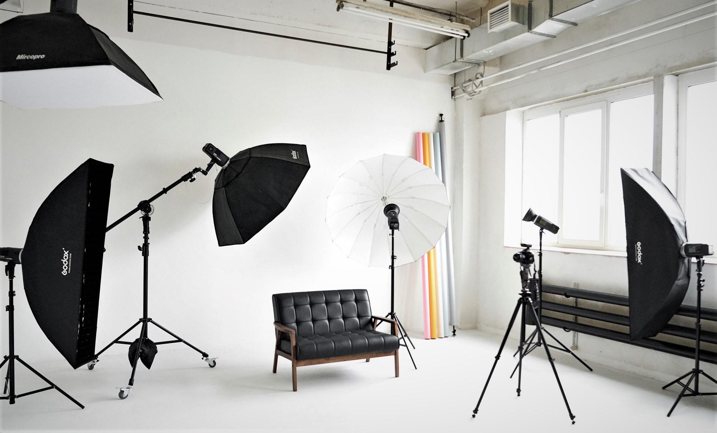 Фотостудия на м. Чкаловская с 4 источниками света
