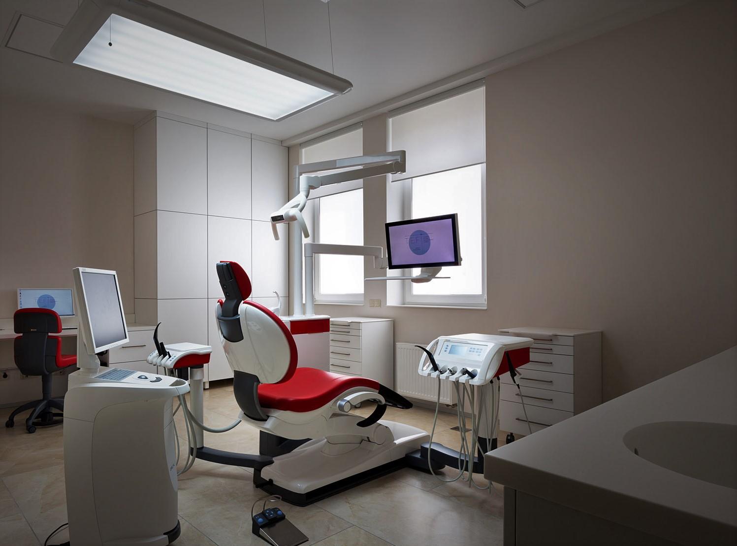Стоматология со стационарным рентгеном