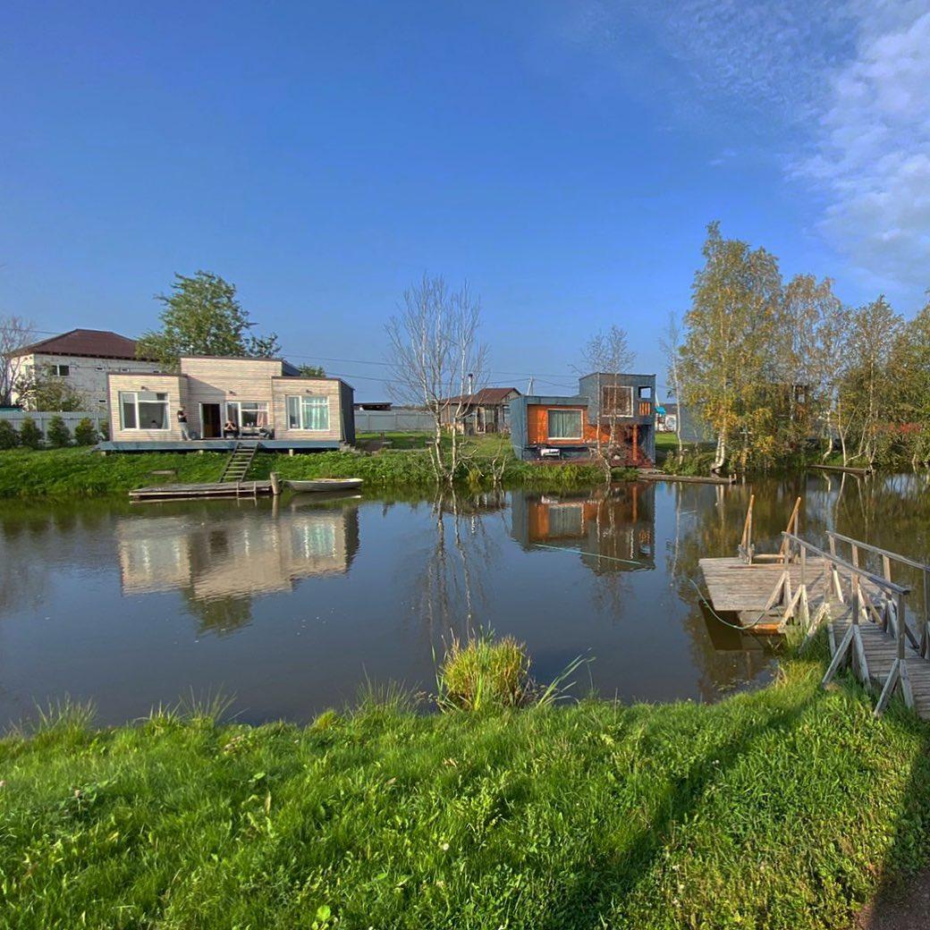 База отдыха у озера с землей в собственность