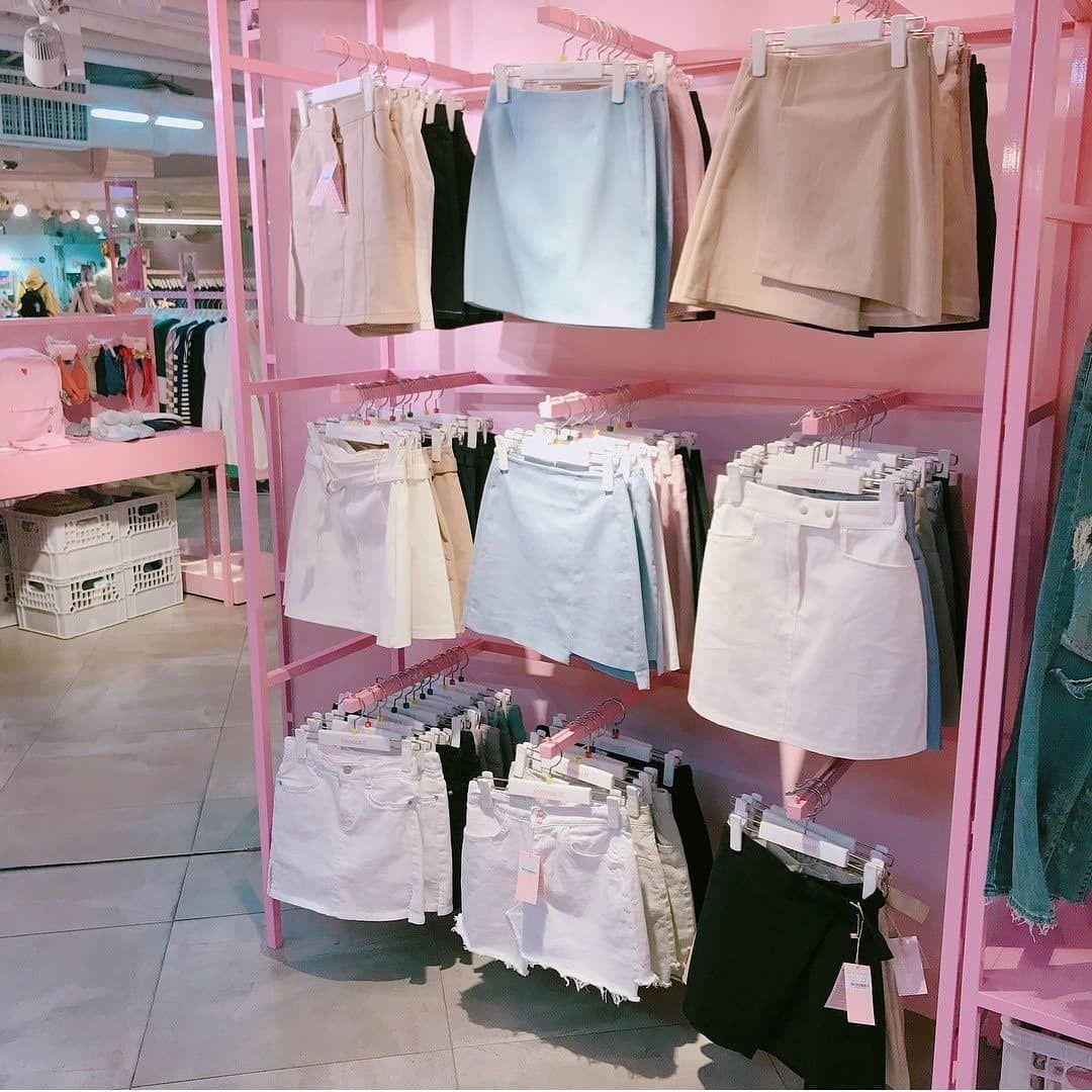 Популярный магазин корейской одежды