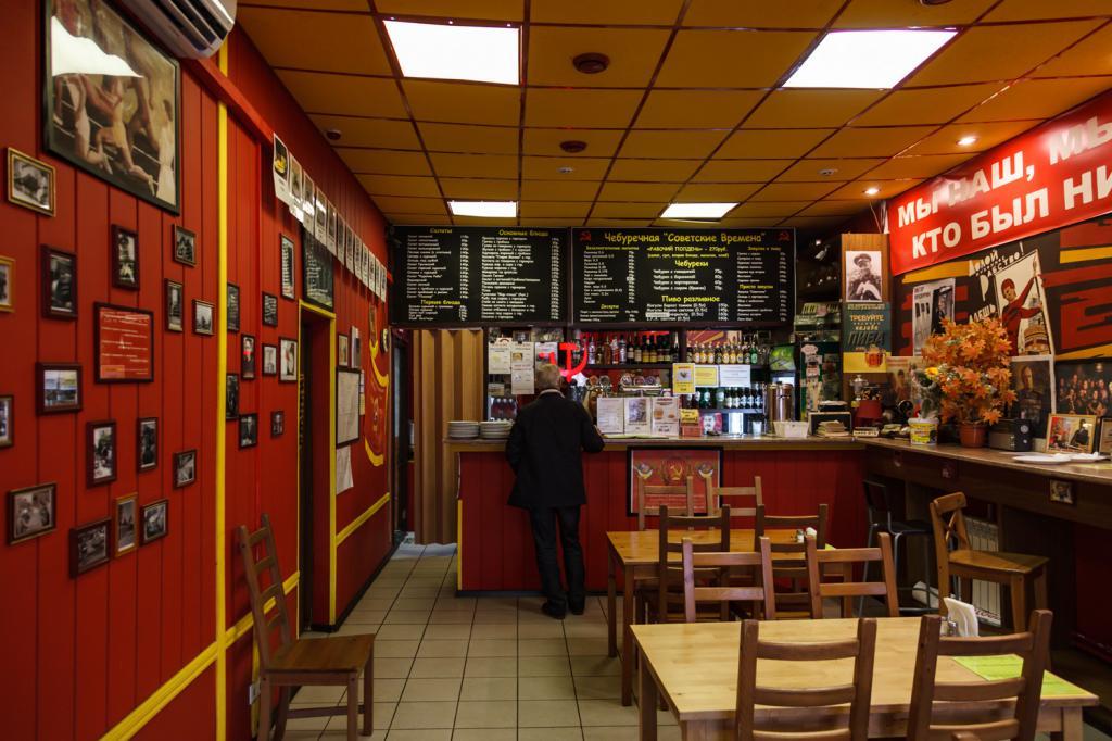 Кафе по цене оборудования на барной улице