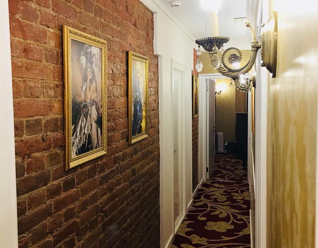 Отель 16 номеров в отдельно стоящем здании